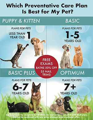 Which Preventive Care Plan is right for my pet